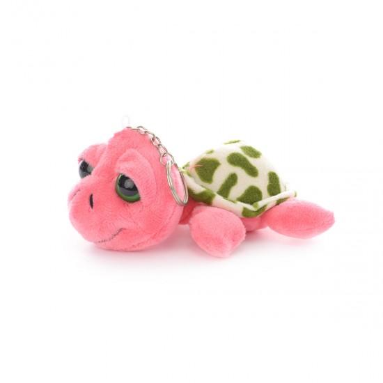Ключодържател костенурка Франклин в розово
