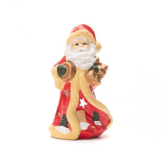 Декоративен  Дядо Коледа в червено