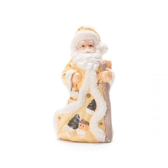 Декоративен  Дядо Коледа в златисто