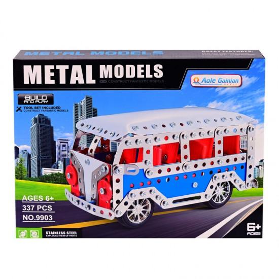 """Метален конструктор """"Автобус"""" /337 елемента/"""