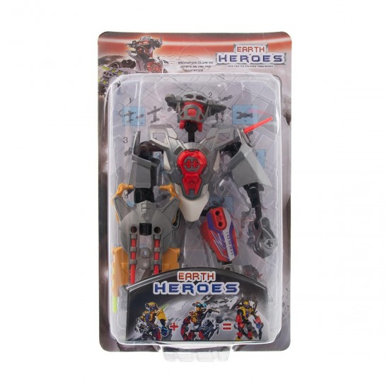 Конструктор-робот  в сиво