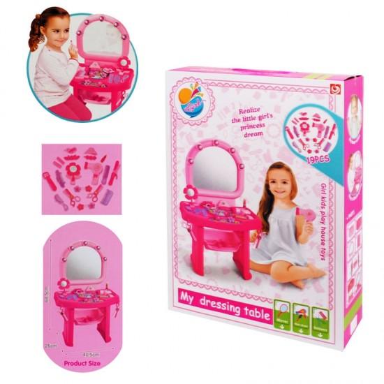 Детска тоалетка с аксесоари /19 елемента/