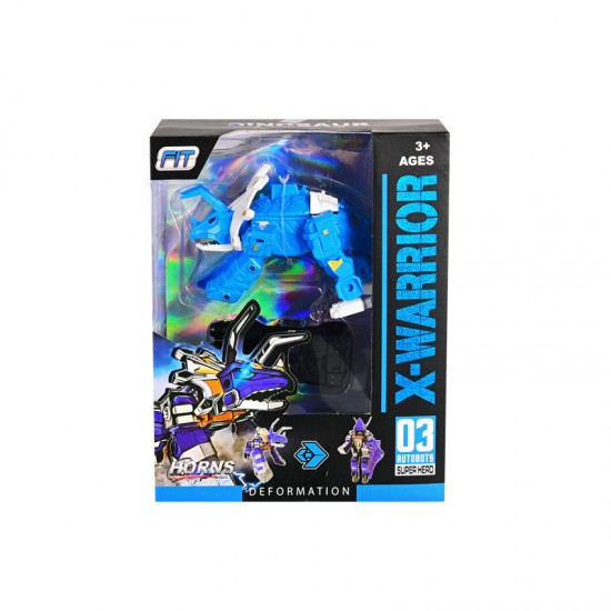 """Трансформер """"Динозавър"""" в синьо"""