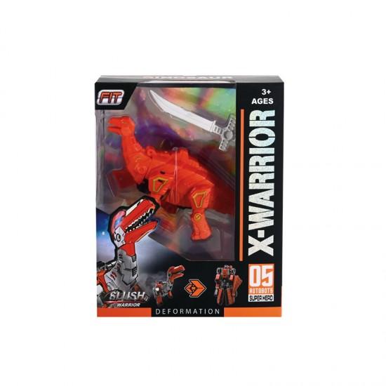 """Трансформер """"Динозавър"""" в оранжево"""