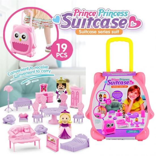 Куфарче с обзавеждане за кукли