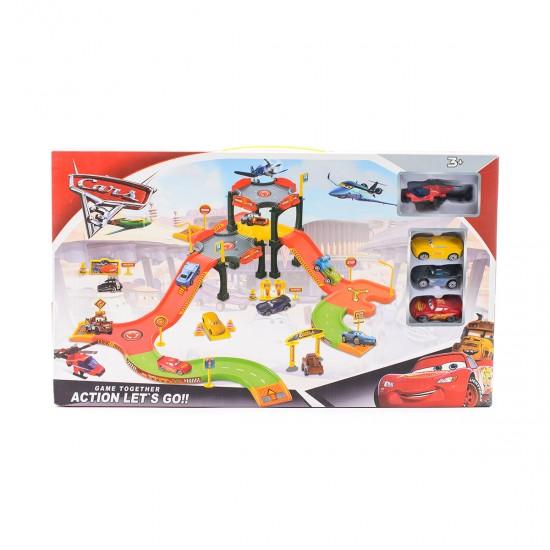 Детска писта с 3 колички