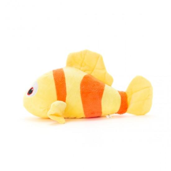 Плюшена рибка в жълто