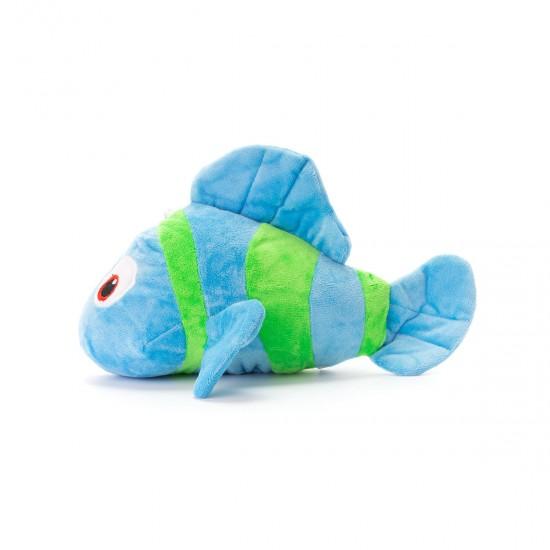 Плюшена рибка в синьо