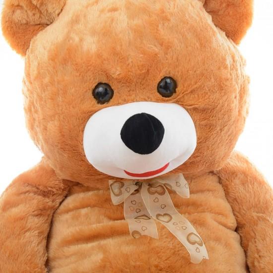 Плюшен мечок супер гигант в кафяво