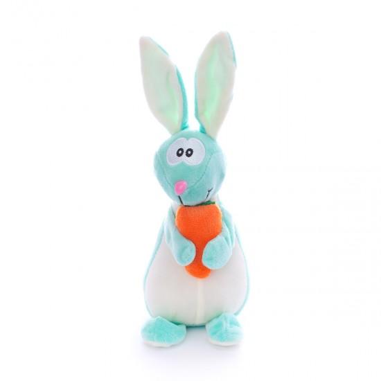 Плюшено зайче с морков Макс