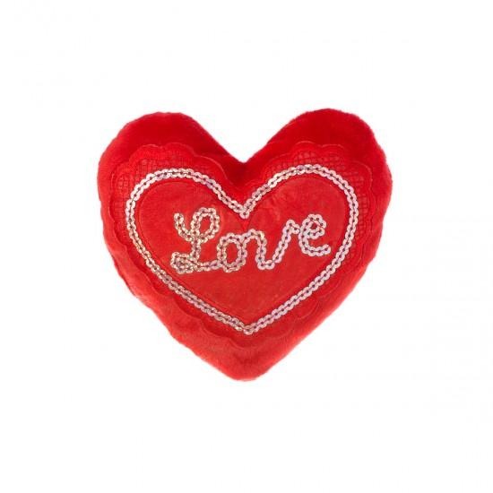 """Плюшено сърце - Love """"Обичам те тооолкова много"""""""