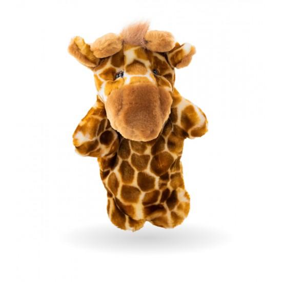 Плюшено жирафче за куклен театър