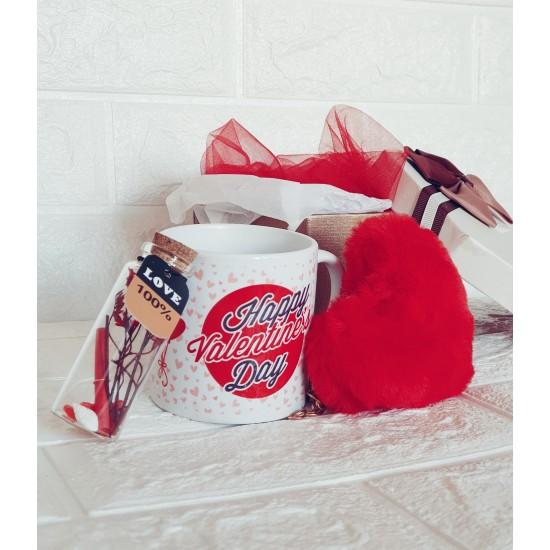 "Подаръчен комплект ""Happy Valentine's Day"""
