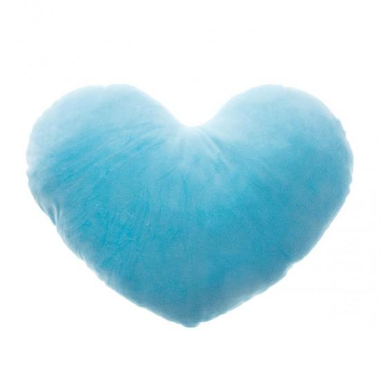 Плюшено сърце в синьо