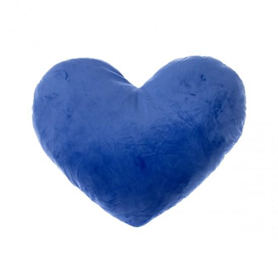 Плюшено сърце в турско синьо
