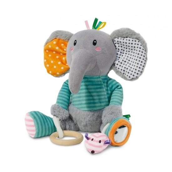 SES - Слончето Олфи с различни материи за сетивност