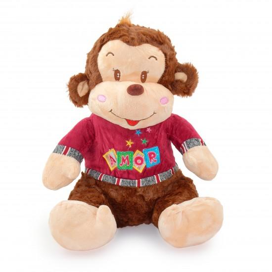 Плюшена маймунка Мила