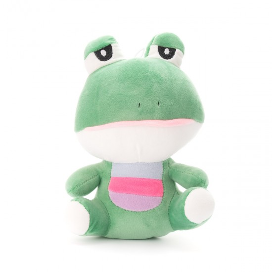 Плюшена жабка Изи