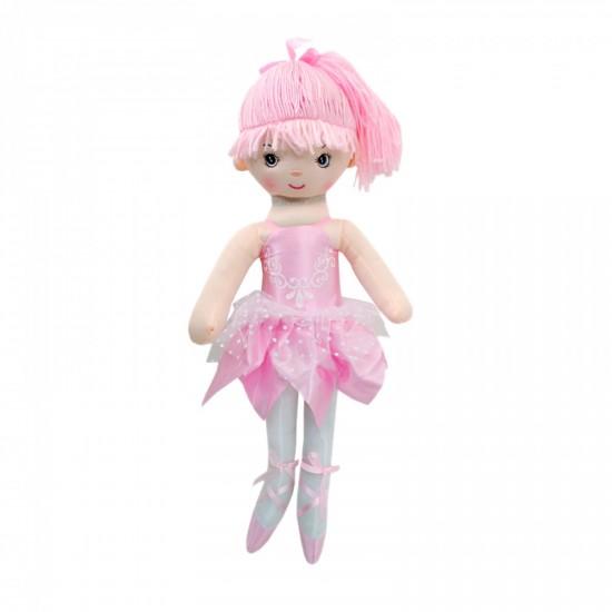 Мека кукла - Балерина в розово