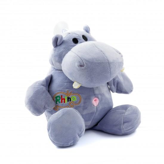 Плюшено хипопотамче бебе