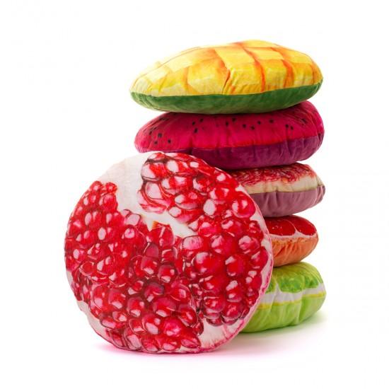 3D Плюшена възглавничка Плод нар