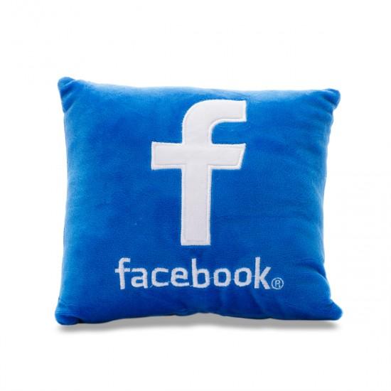 Мини възглавничка Facebook
