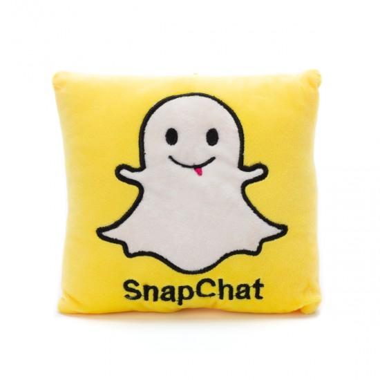 Мини възглавничка Snapchat
