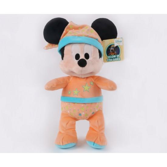 Плюшена играчка - Мики Маус свети в тъмното