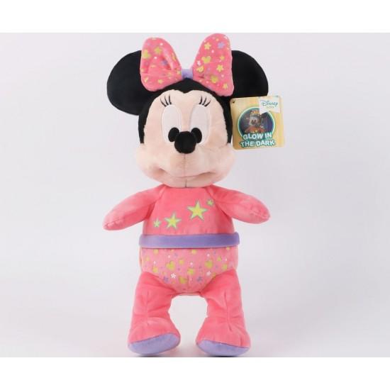 Плюшена играчка - Мини Маус, свети в тъмното