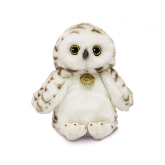 Плюшена играчка Aurora  - Снежен бухал, 23 см