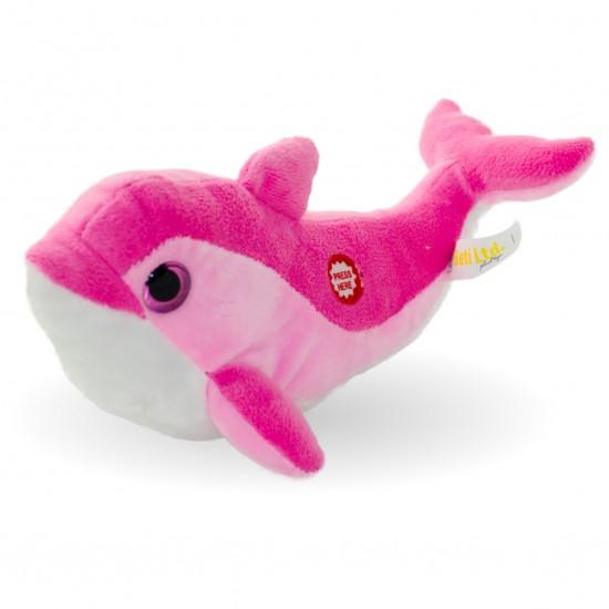 Плюшен делфин Лара със звук