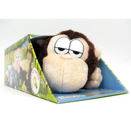 Интерактивна плюшена маймуна Смехуран