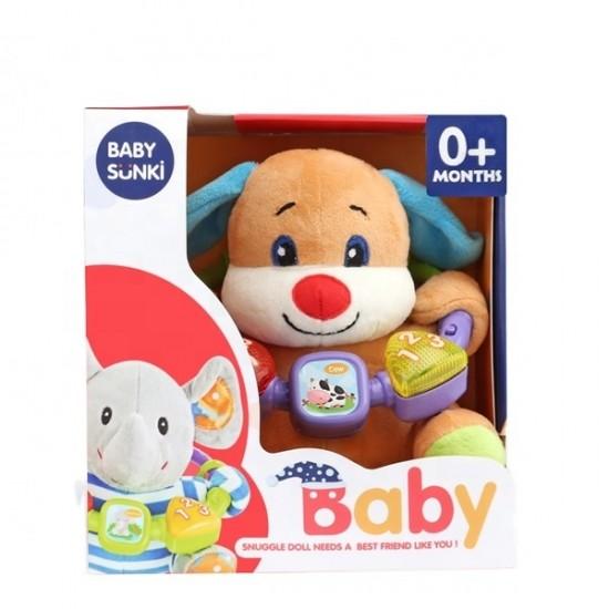 Плюшена музикална играчка Baby Sunki/ куче