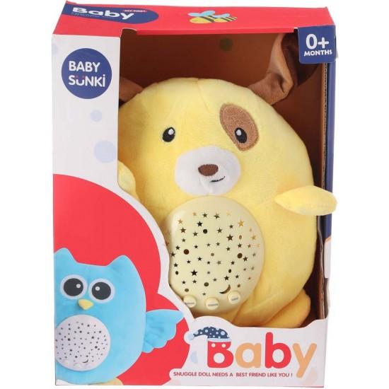 Плюшена музикална играчка Baby Sunki / жабка