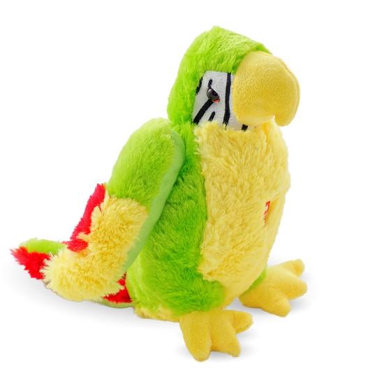 Плюшено папагалче с музика
