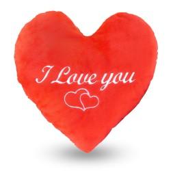 """ПЛЮШЕНО СЪРЦЕ """"I LOVE YOU"""""""