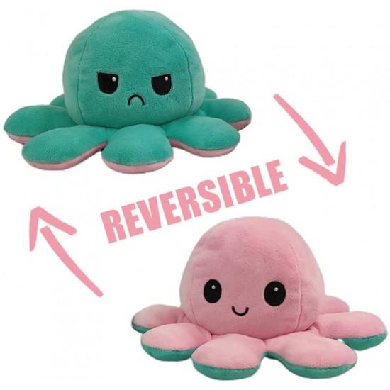 Плюшен октопод с две лица