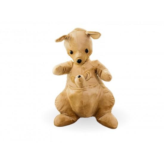 Плюшено кенгуро с бебе