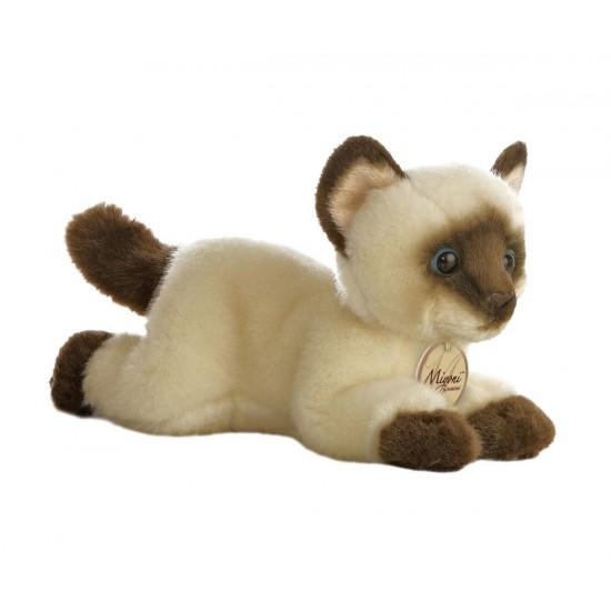 Плюшена играчка - Сиамско коте 20см