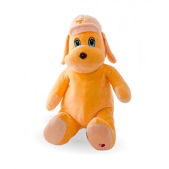 Плюшено куче Теа в оранжево