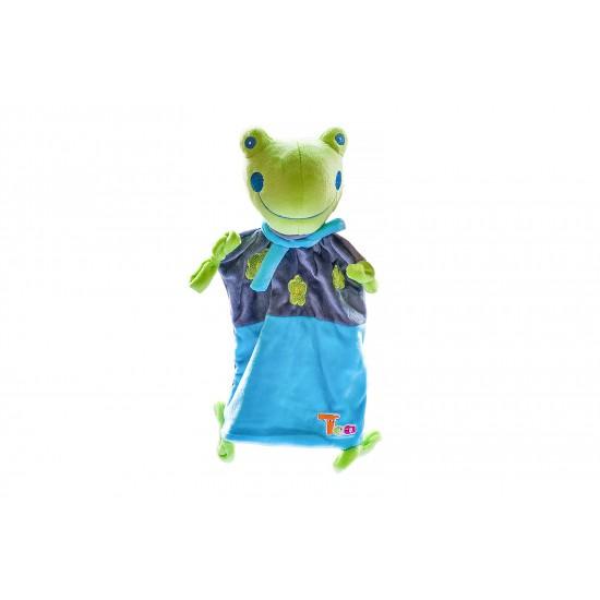 Плюшена жабка кърпа