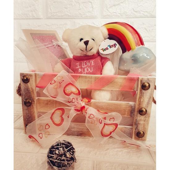 """Подаръчен комплект """"Розова магия"""""""