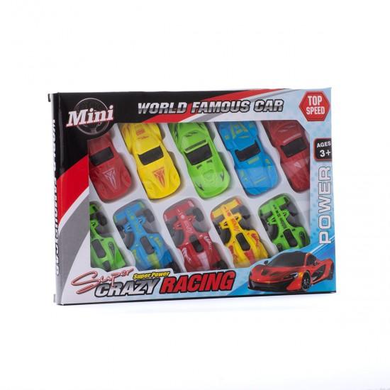 Пластмасови коли в комплект