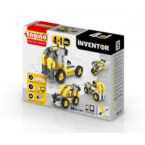 Конструктор изобретател - 4 модела индустриални машини