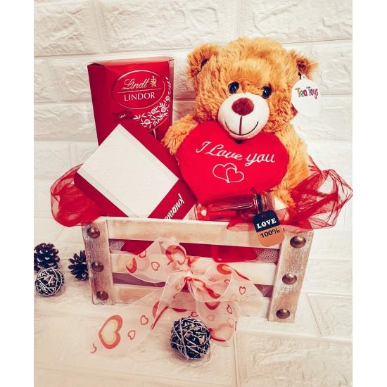 Подаръчен комплект за влюбени