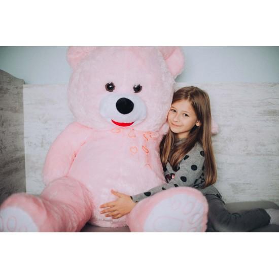Плюшен мечок голям в розово