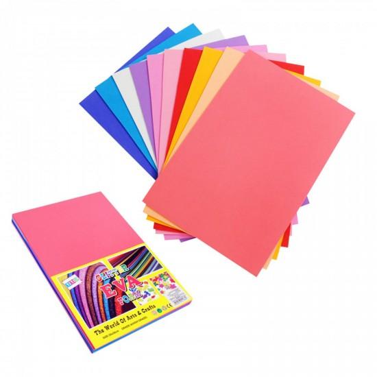 Цветни листи за декорация